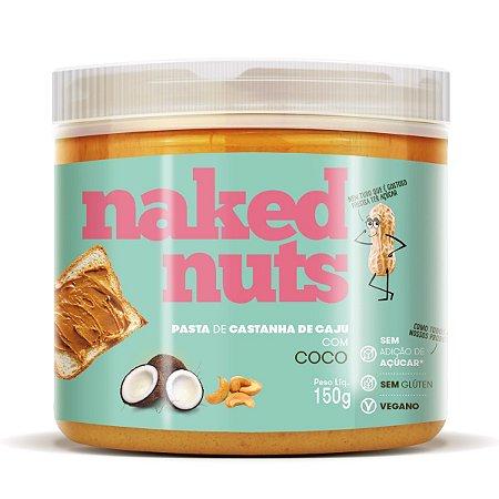 Pasta de Castanha de Caju com Coco 150g - Naked Nut