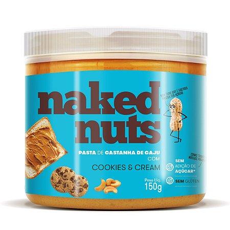 Pasta de Castanha de Caju Com Pedacinhos de Cookies 150g - Naked Nuts