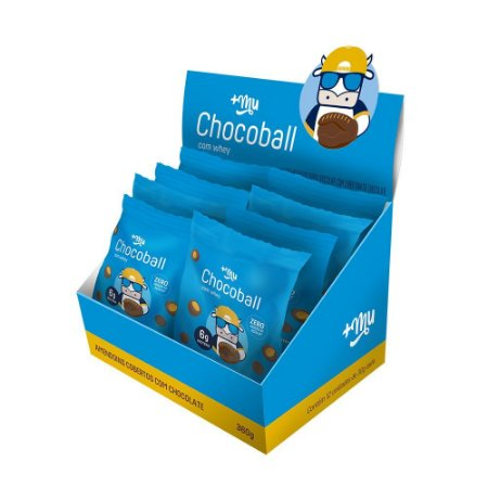 Chocoball Amendoim 12 Unidades 30g +Mu - Mais Mu