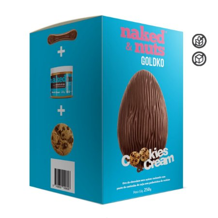 Ovo de Pascoa 250g - Naked Nuts