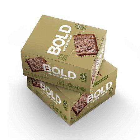 Bold Bar Vegana Brownie 12 Unidades - Bold Snacks
