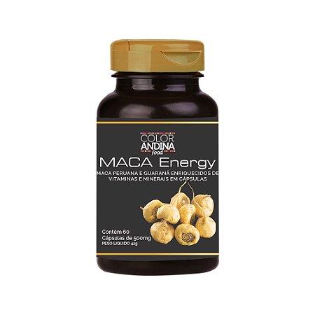 Maca Energy 60 Cápsulas - Color Andina Food