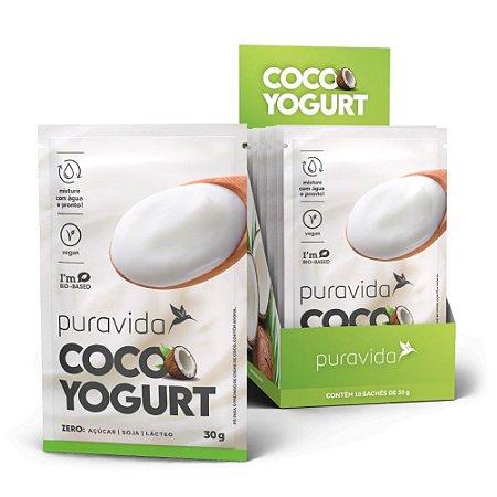 Coco Yogurt 30g Cx 10 Sachês - Pura Vida