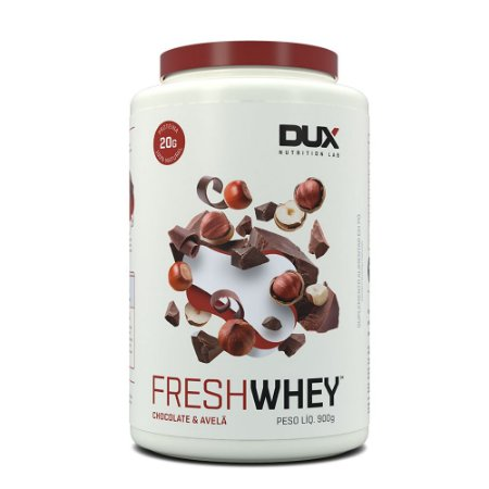 Fresh Whey Chocolate Belga e Avelã 900g - Dux Nutrition