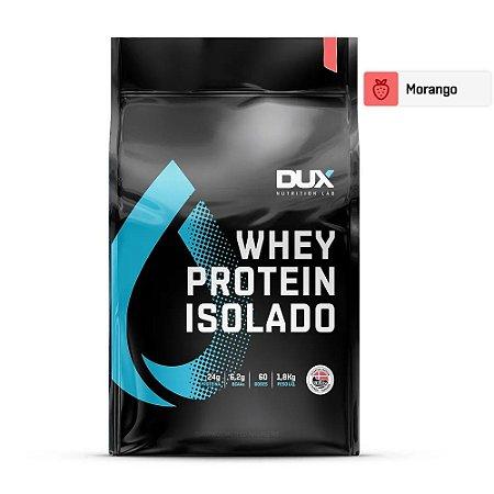 Whey Protein Isolado Morango 1800g - Dux Nutrition