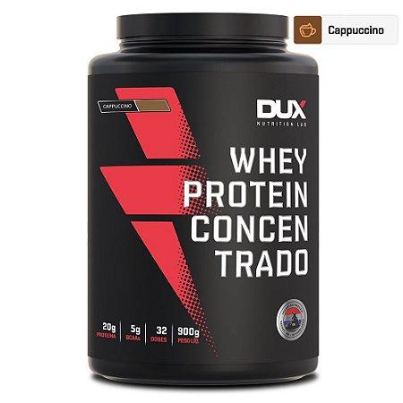 Whey Protein Concentrado Cappuccino 900g - Dux Nutrition