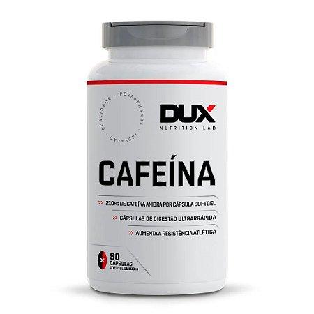 Cafeína 90 Cápsulas - Dux Nutrition
