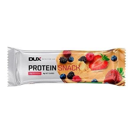 Protein Snack Chocolate Branco e Frutas Vermelhas 40g - Dux Nutrition