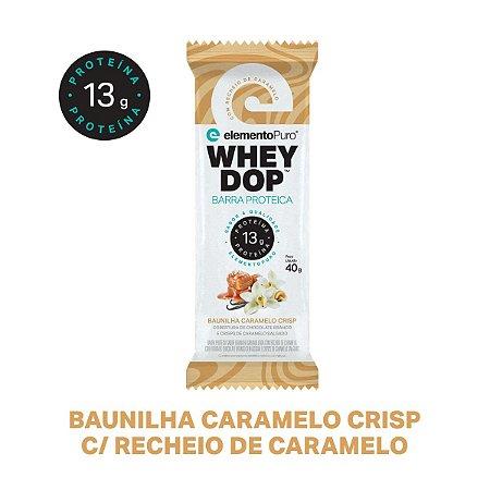 Wheydop Bar Baunilha Caramelo 40g - Elemento Puro