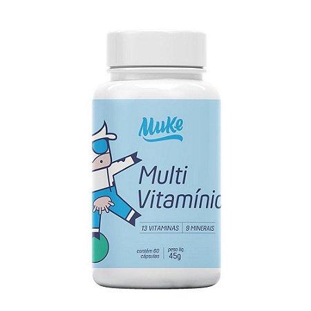 Muke Care Multivitamínico 60 Cápsulas - Mais Mu