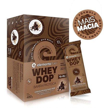 Wheydop Bar Chocolate Maltado 12 Unidades - Elemento Puro