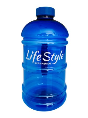 Galão 2 Litros Azul - Life Style Suplementos
