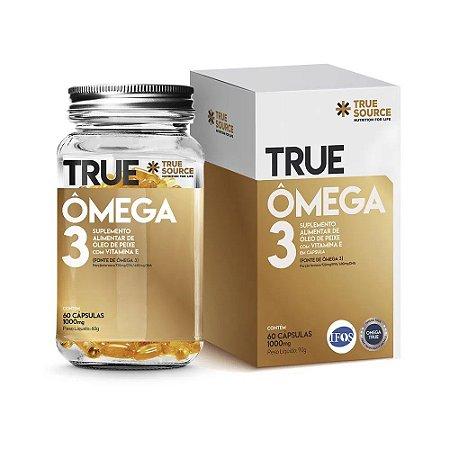 Ômega 3 True Com Vitamina E (60 Cápsulas) - True Source