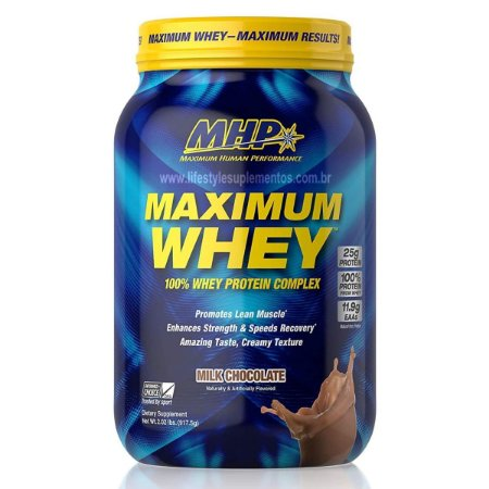 Maximum Whey Chocolate 917g - MHP