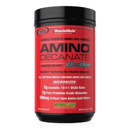 Amino Decanate Citrus Lime 384g - Musclemeds