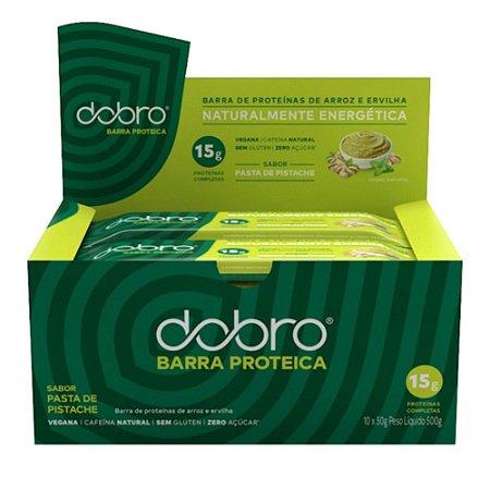 Barra de Proteína Pasta de Pistache 10 Unidades - Dobro