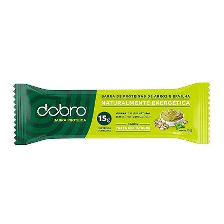 Barra de Proteína Pasta de Pistache 50g - Dobro