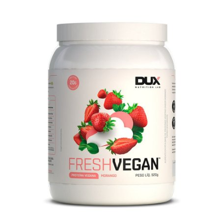 Fresh Vegan Morango 520g - Dux Nutrition