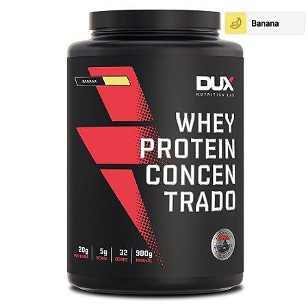 Whey Protein Concentrado Banana 900g - Dux Nutrition