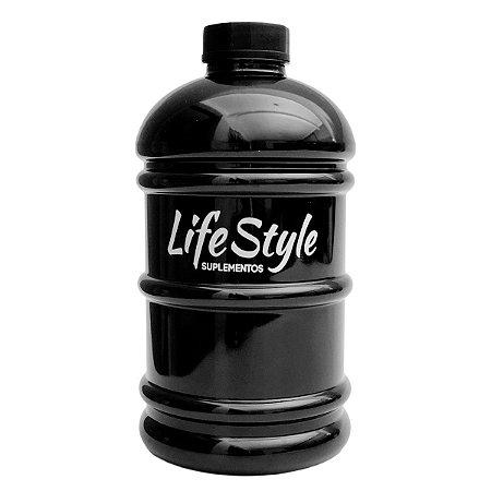 Galão 2 Litros Preto - Life Style Suplementos