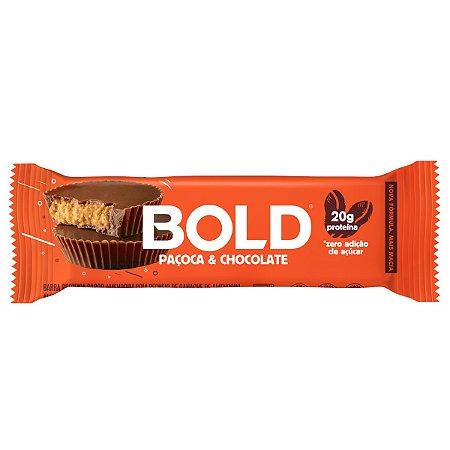 Bold Bar Paçoca & Chocolate - Bold Snacks