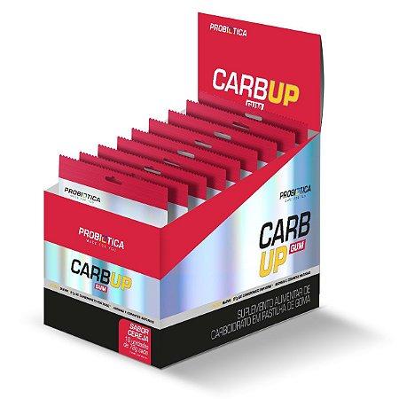 Carb Up Gum Cereja Display Com 10 Pacotes - Probiotica