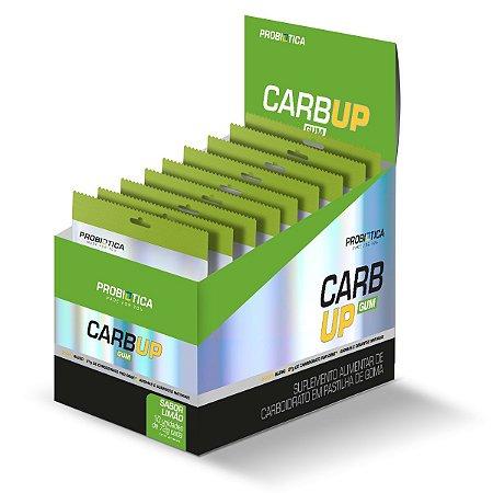 Carb Up Gum Limão Display Com10 Pacotes - Probiotica