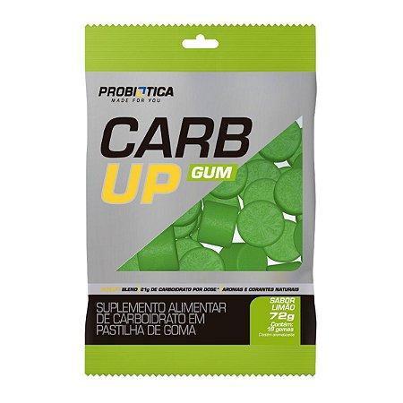 Carb Up Gum Limão 72g (18 Gomas) - Probiotica