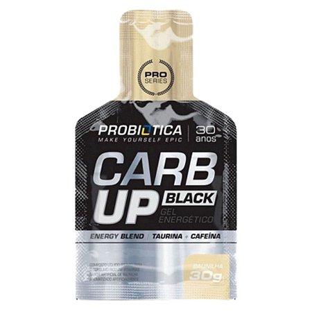Carb Up Gel Black Baunilha - Probiotica
