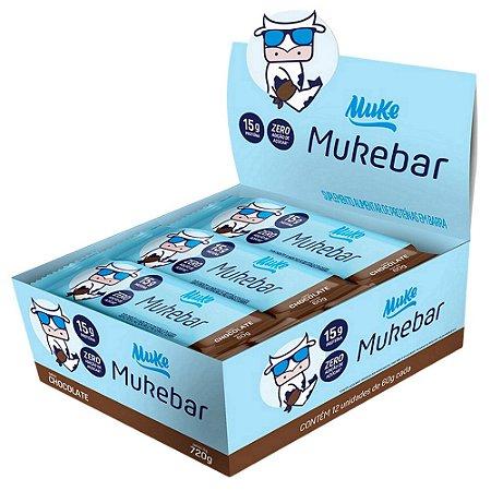 MukeBar Muke Chocolate 12 Unidades - Mais Mu