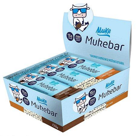 MukeBar Caixa Mista 12 Unidades - Mais Mu