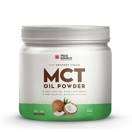 MCT Oil Powder Coconut Cream 300g - True Source