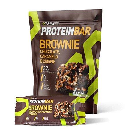 Protein Bar Brownie 4 Mini Barras - Trinity