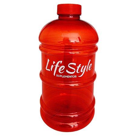 Galão 2 Litros Vermelho - Life Style Suplementos