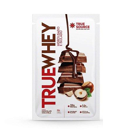 True Whey Chocolate Com Avelã Sachê 32g  - True Source