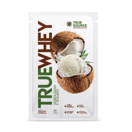 True Whey Coconut Ice Cream Sachê 32g - True Source