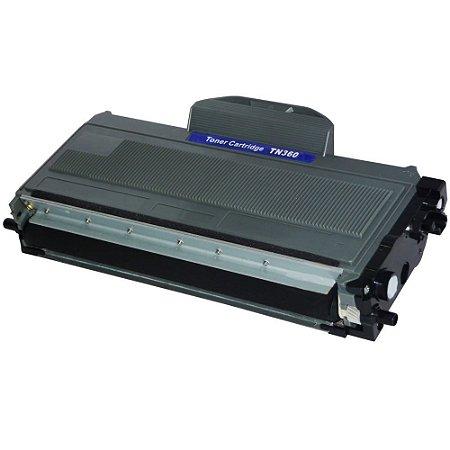 Cartucho de toner compatível para impressora Brother TN 360