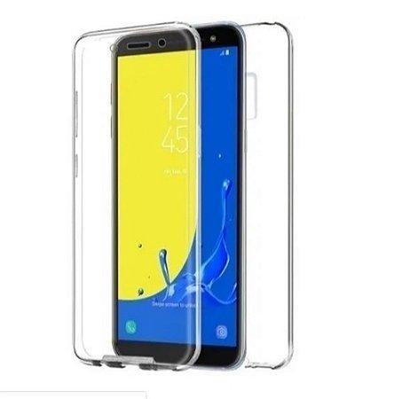 Capa 360º Transparente Frente e Verso para Samsung J6+ PLUS