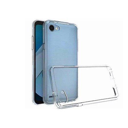Capa de silicone transparente para LG Q6 / Q6 Plus