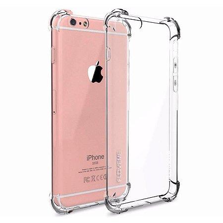 Capa (Capinha) em silicone transparente para iPhone 7/8 (4.7) AntiShock