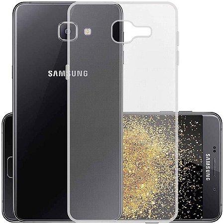 Capa (Capinha) em silicone transparente para Samsung A9 Antigo (2016)