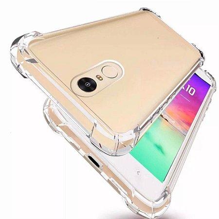 Capa (Capinha) em silicone transparente para LG K12 / K12+ Antishock