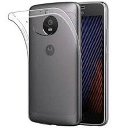 Capa (Capinha) em silicone transparente para Moto G5S NORMAL