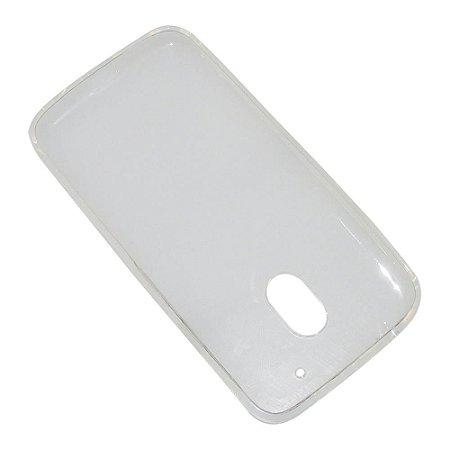 Capa (Capinha) em silicone transparente para Moto G4 PLAY