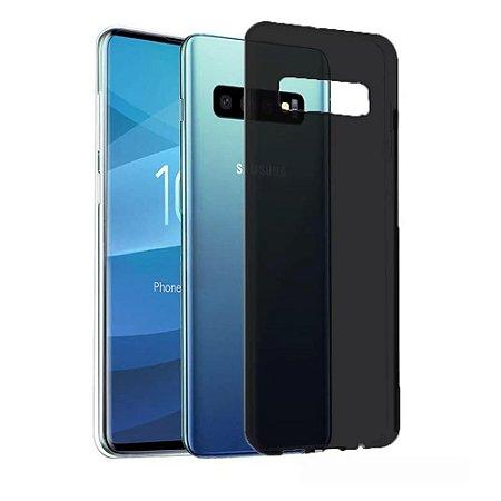 Capa (Capinha) em silicone FUMÊ para Samsung S10+ S10 PLUS