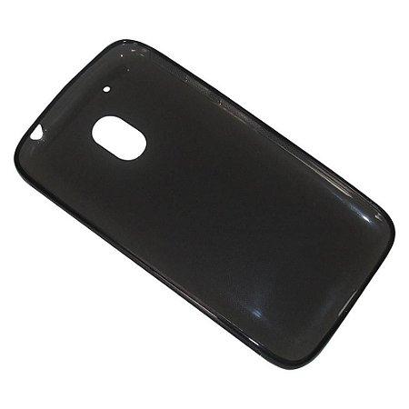 Capa (Capinha) em silicone FUMÊ para Moto G4 PLAY