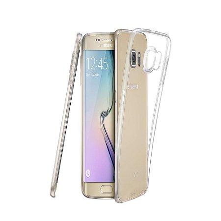 Capa (Capinha) em silicone transparente para Samsung S6 EDGE (Normal)