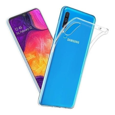 Capa transparente de silicone para Samsung A70 Normal