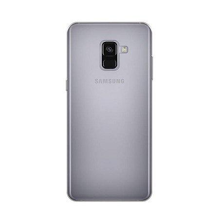 Capa transparente de silicone para Samsung A5 2018 ou A8 2018 Normal