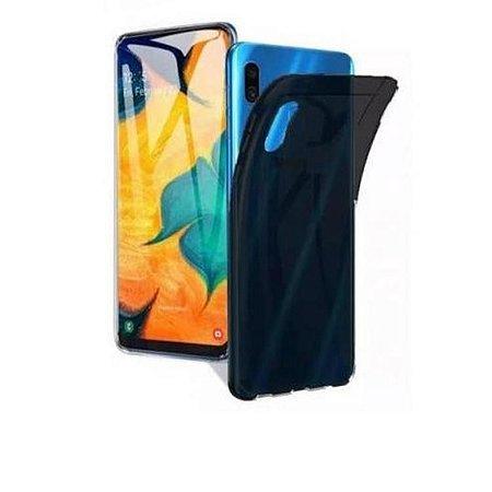 Capa na cor fumê de silicone para Samsung A20 ou Samsung A30